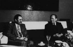 Il generale Giap con Abu Ali Mustafa